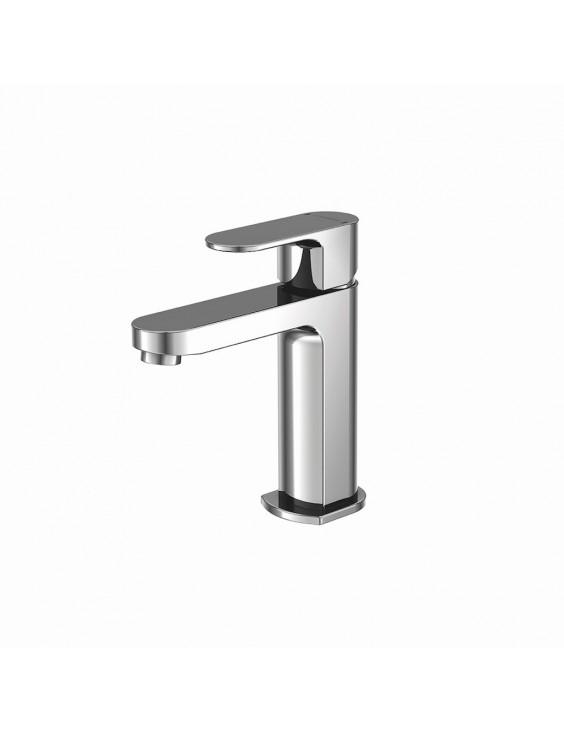 Robinet monocommande lavabo pour lave-mains en laiton chromé Primo. Marque : Mooze