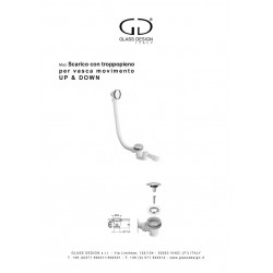Vidage baignoires Glass Design