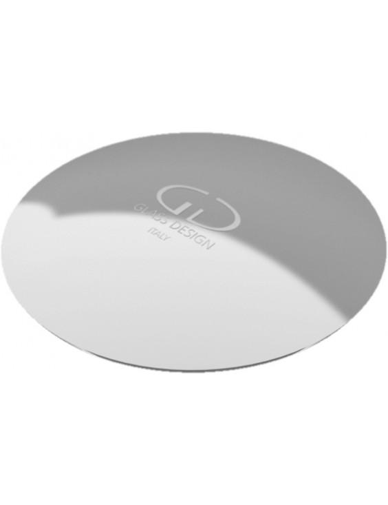 Bonde à écoulement libre chromée pour vasques Glass Design