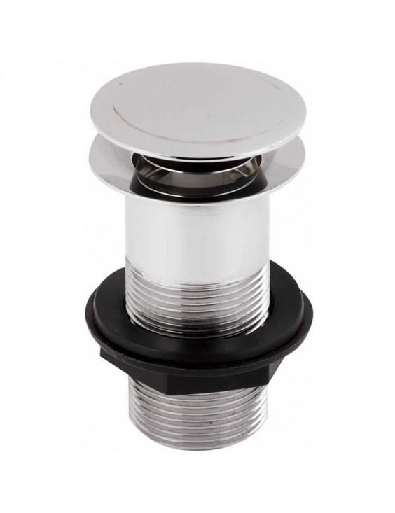 Bonde clic-clac plate pour vasques et lavabos EX.T