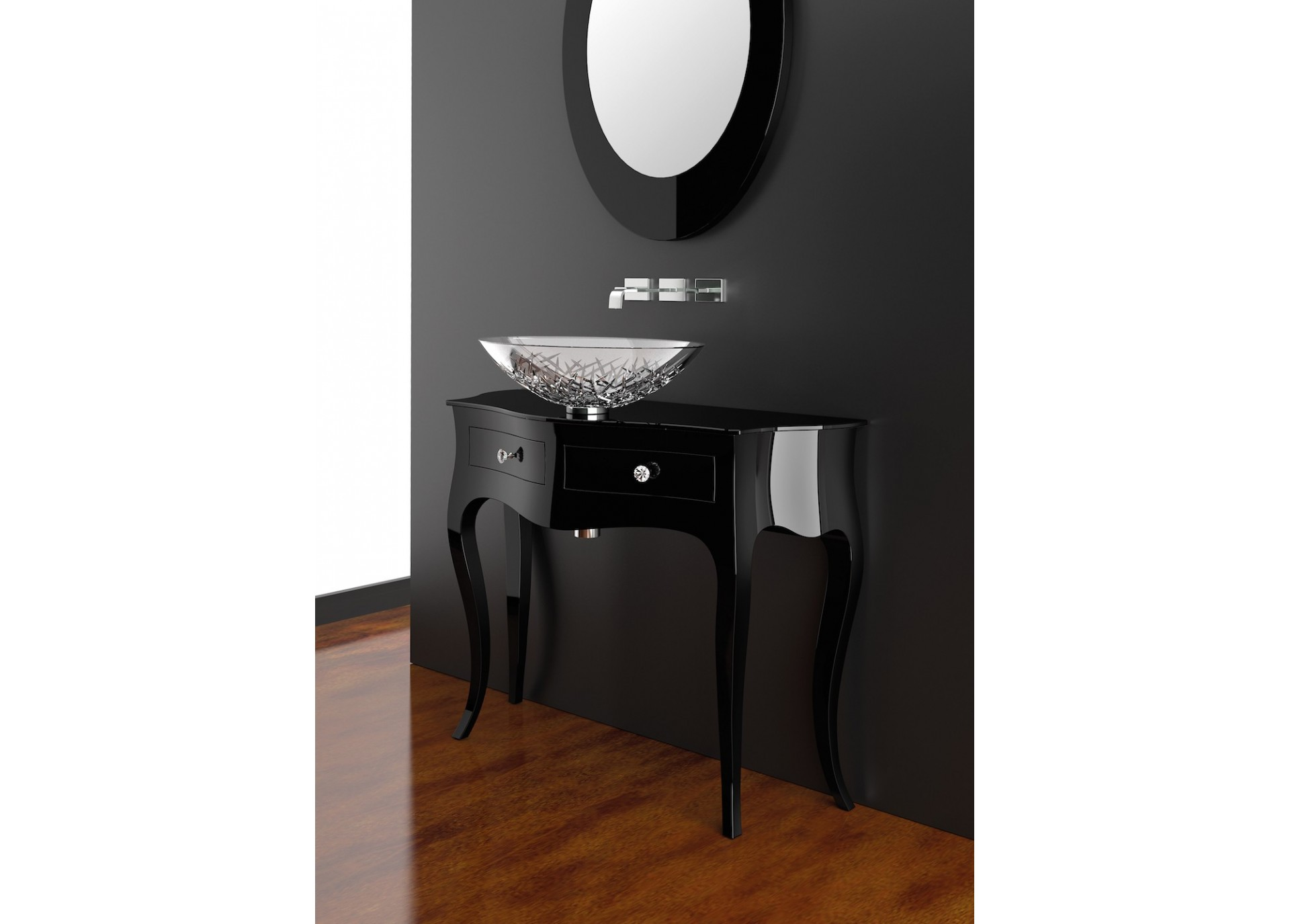 mobilier salle de bain haut de gamme canto by glass design. Black Bedroom Furniture Sets. Home Design Ideas