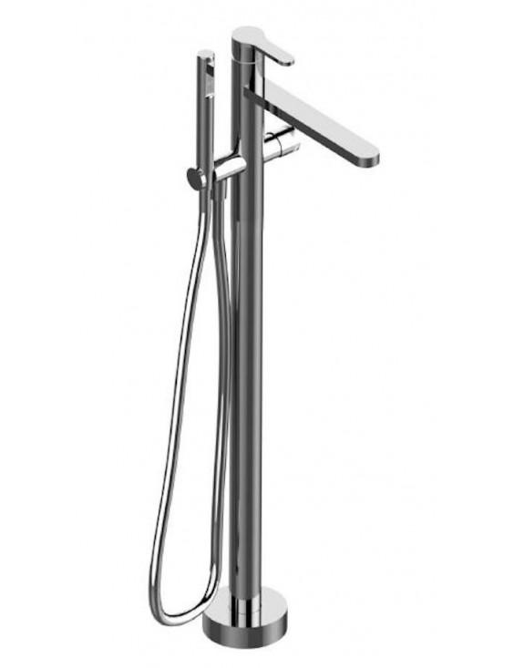 robinet monocommande sur pied pour baignoire klab 2703 de treemme. Black Bedroom Furniture Sets. Home Design Ideas
