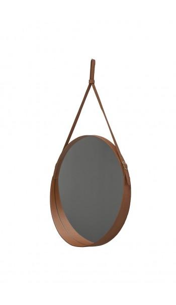 Miroir en cuir Corium