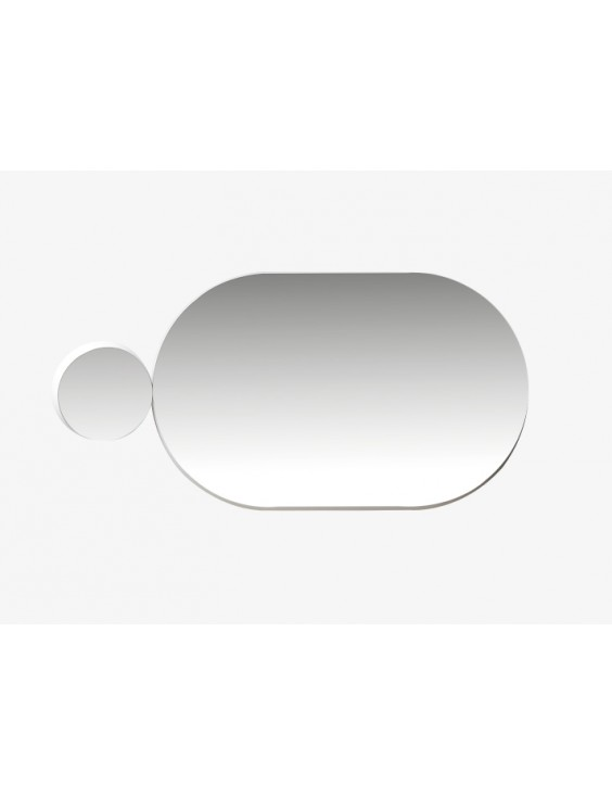 Miroir Gravity oval