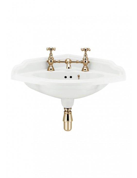 Lave main d'angle suspendu Victorian