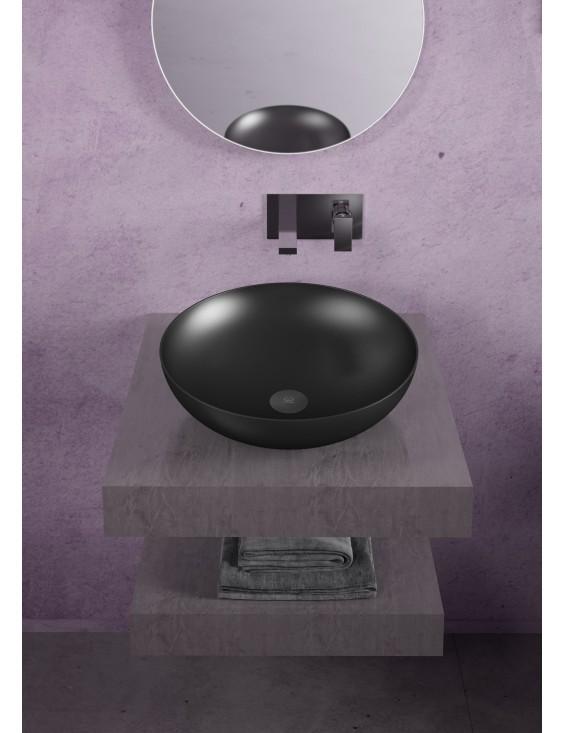Vasque à poser Slide noir mat