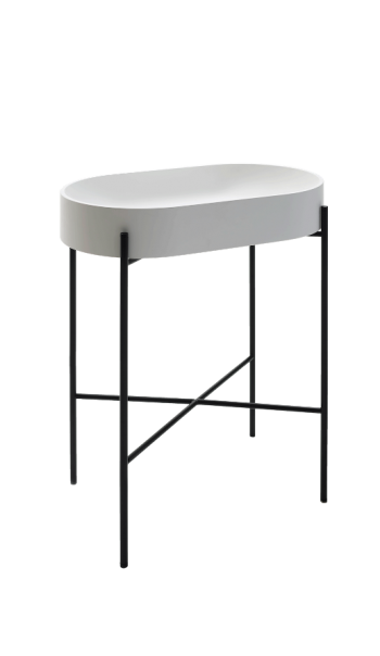 Lavabo console Stand oval