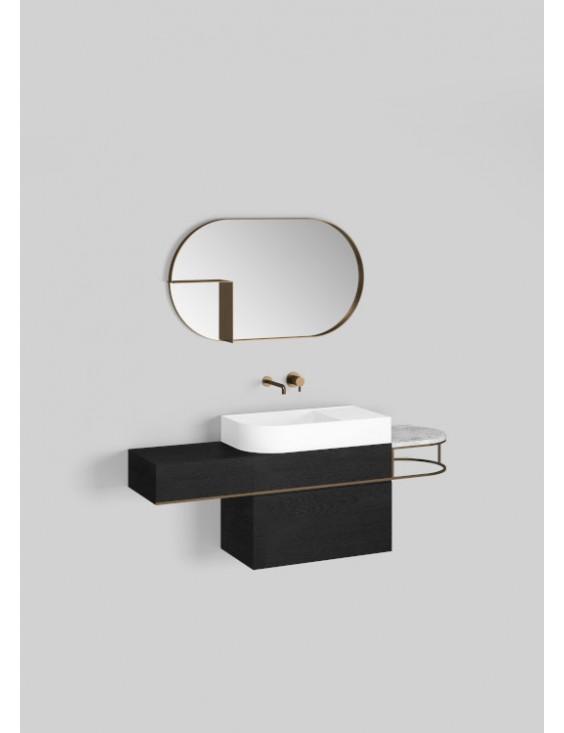 Meuble lavabo à suspendre L115 cm, Nouveau