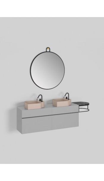 Meuble lavabo double L178 cm, Nouveau