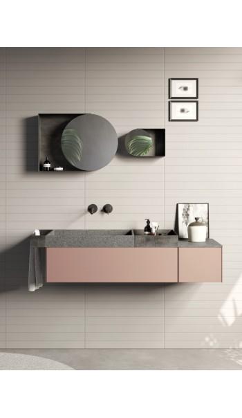 Meuble salle de bain Compact Living 1, de Rexa