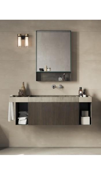 Meuble salle de bain Compact Living 3, de Rexa