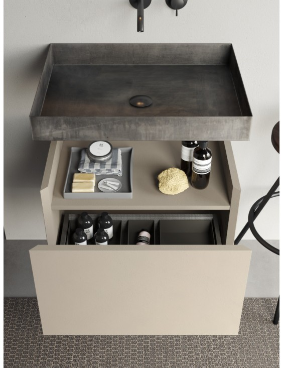 Meuble de salle de bain design Compact Living 4, de Rexa