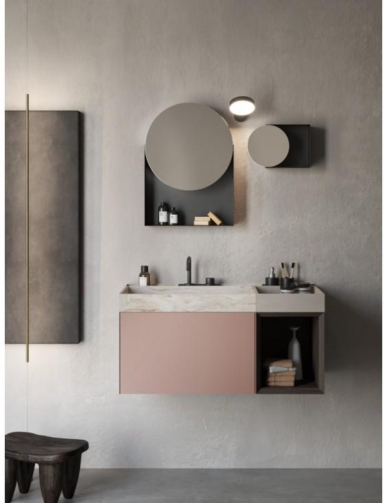 Meuble salle de bain Compact Living 5, de Rexa
