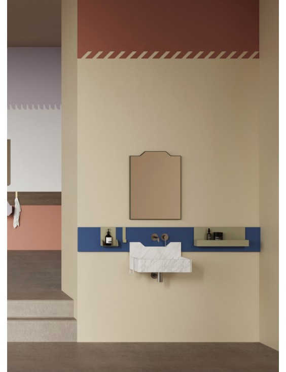 Crédence pour lavabo Frieze One Low et Frieze Two