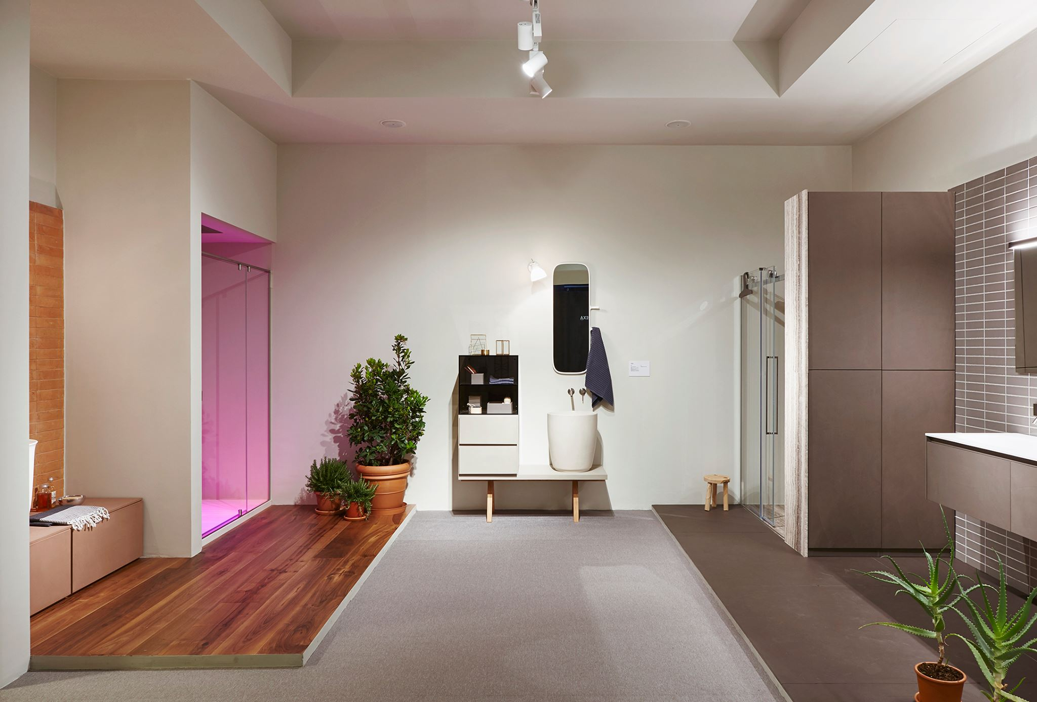 Plante Pour Salle De Bain Sombre une salle de bain joliment zen avec des plantes - chez mooze