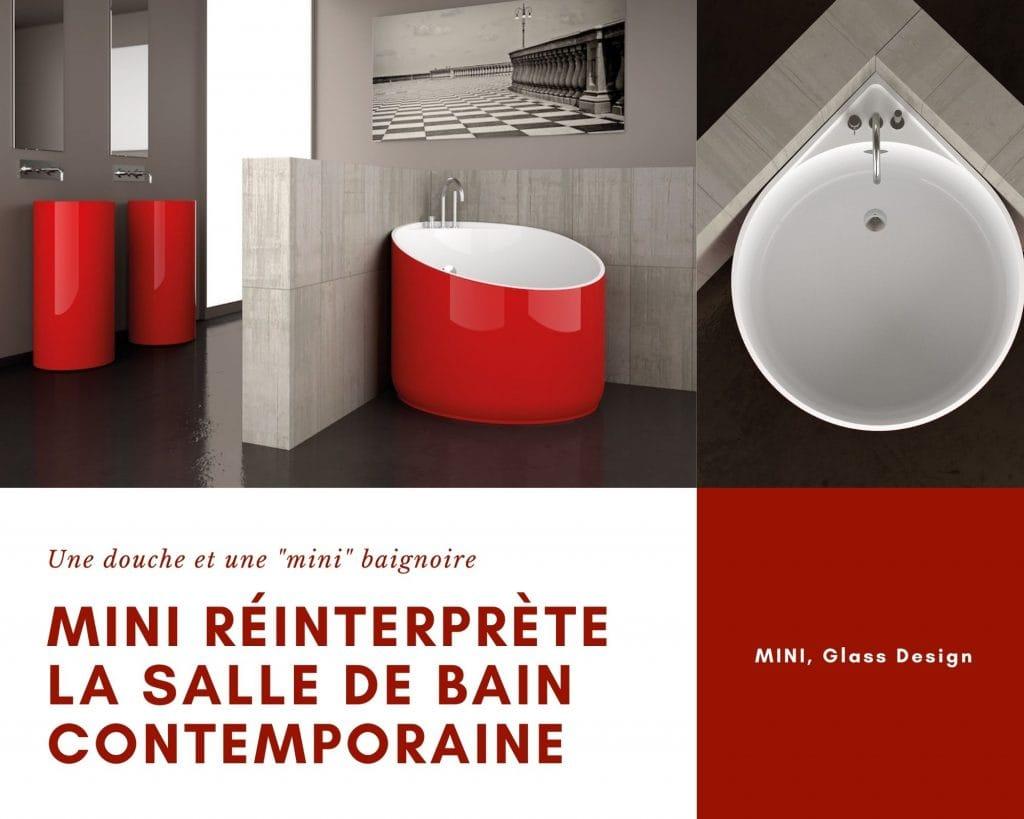 Baignoire Mini de Glass Design