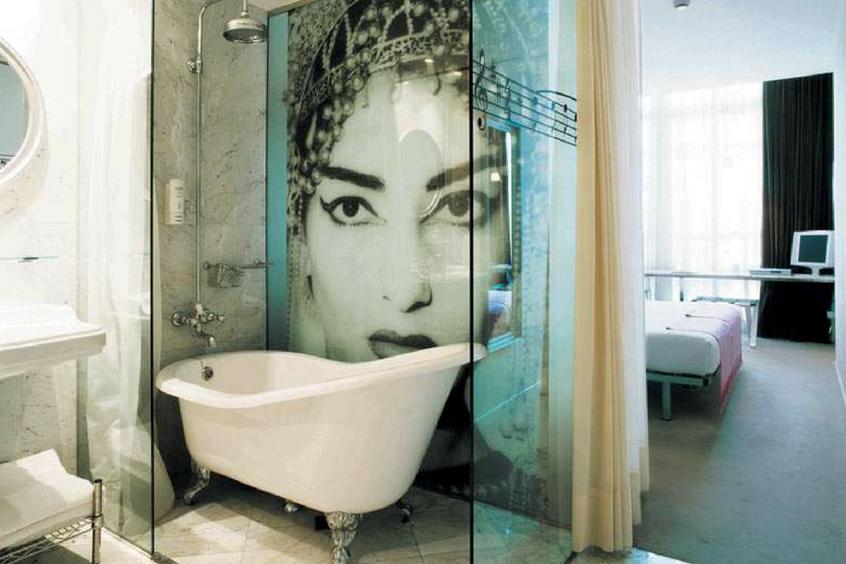 les salles de bain inspir es par les influencers chez mooze. Black Bedroom Furniture Sets. Home Design Ideas