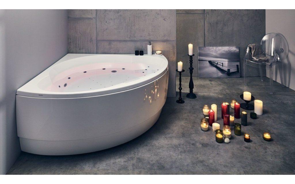 Collection de baignoires balnéo Easypool, de Riho