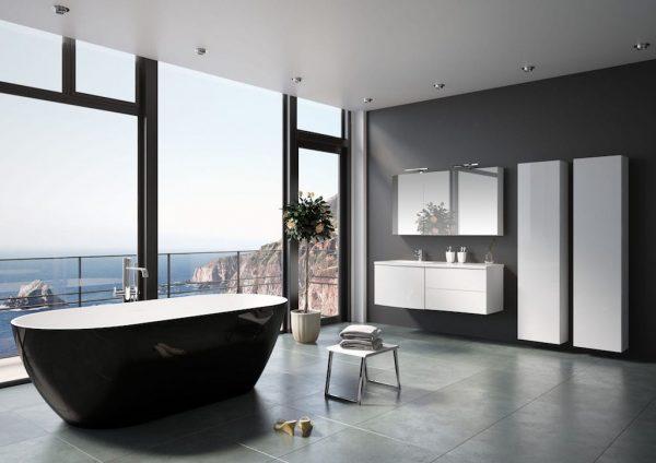 baignoires salle de bain haut de gamme de riho chez mooze. Black Bedroom Furniture Sets. Home Design Ideas