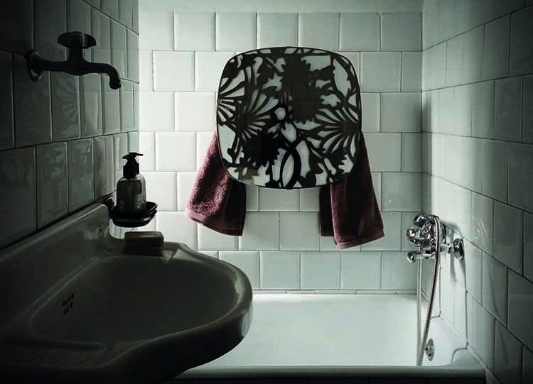 Sèche-serviettes Square avec sérigraphie, mg12