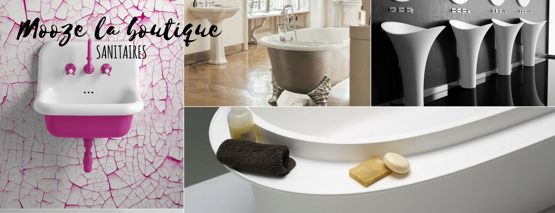 sanitaires pour salle de bain haut de gamme mooze la. Black Bedroom Furniture Sets. Home Design Ideas