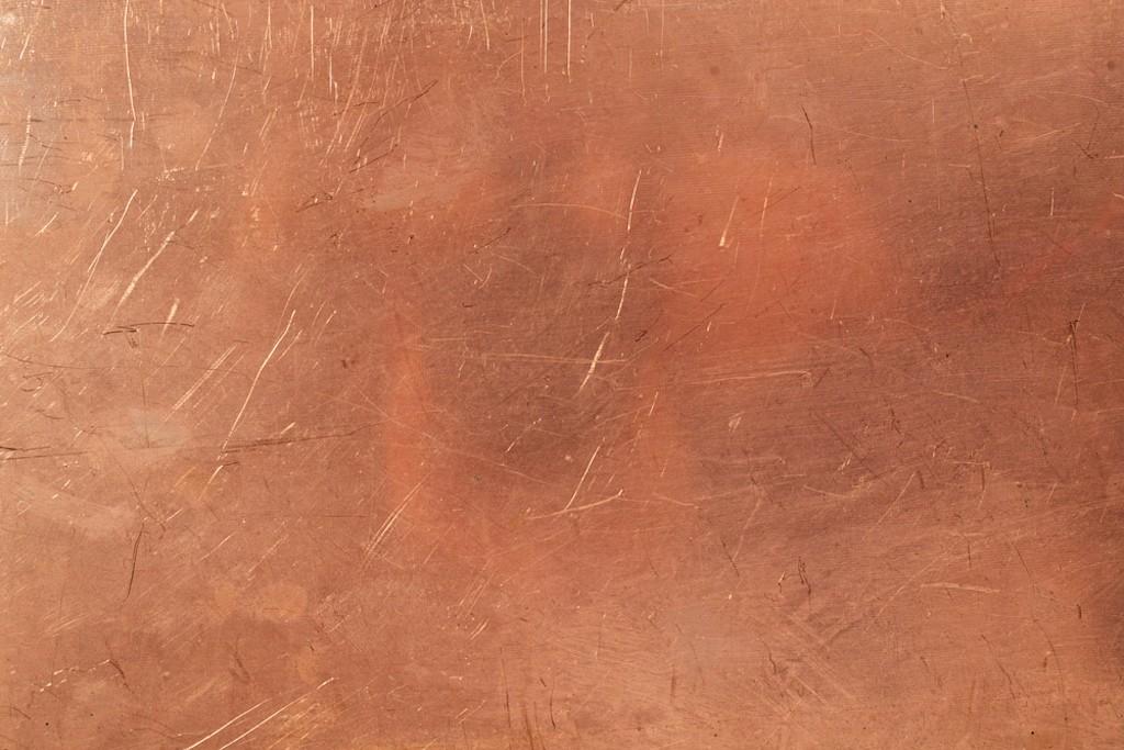 Fonte feuille de cuivre/blanc