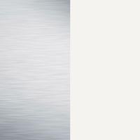 Miroir/blanc mat